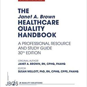 Healthcare Quality Handbook